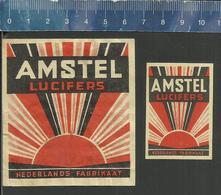 AMSTEL LUCIFERS ( Matchbox Labels The Netherlands) - Boites D'allumettes - Etiquettes