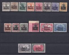 Bayern - 1919 - Michel Nr. 136/151 - Gest. - 75 Euro - Bavaria