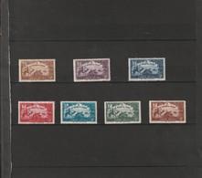 TUNISIE Au Profit De L'oeurvre Tunisienne De L'enfance  N° 147 **   à   153** - Unused Stamps