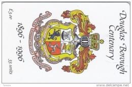 Isle Of Man, MAN 106, Douglas Borough Centenary, 2 Scans . - Isla De Man