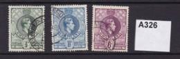 Swaziland 1938 3 Values To 6d - Swaziland (...-1967)