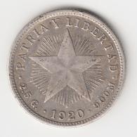 @Y@    Cuba   2 Centavo  1920   Ag     (4544) - Cuba