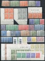 Finnland Lot Wappenlöwe Postfrisch MNH - Heraldic - Finland