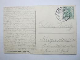 1912 , NIKRISCH  , Klarer Stempel Auf Karte - Briefe U. Dokumente