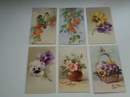 Beau Lot De 10 Cartes Postales De Fantaisie Illustrateur Catharina Klein  Mooi Lot Van 10 Postkaarten Van Fantasie Klein - 5 - 99 Postkaarten
