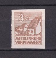 Sowjetische Zone - Mecklenburg-Vorpommern -  1946 - Michel Nr. 29 X - Postfrisch - 30 Euro - Sowjetische Zone (SBZ)