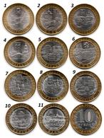 Russie - 10 Roubles - Ancients Town (2011-2019 - 11 Coins UNC) - Rusland