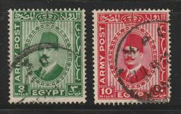 Egypt - 1936 - ( Military - King Fouad ) - Used - Oblitérés