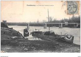 77 . N° 48245 . Ponthierry . Pont De Sainte Assise.peniches - France