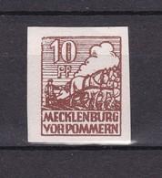 Sowjetische Zone - Mecklenburg-Vorpommern -  1946 - Michel Nr. 35 X - Postfrisch - 30 Euro - Sowjetische Zone (SBZ)
