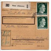 Allemagne  / Colis Postal  / Départ Rann - Allemagne