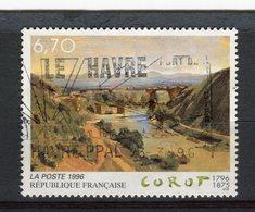 """FRANCE - Y&T N° 2989° - """"Le Pont De Narni"""" De Jean-Baptiste Corot - Gebraucht"""