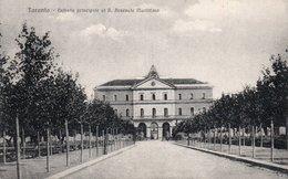 TARANTO-ENTRATA PRINCIALE AL R. ARSENALE MARITTIMO-1918 - Taranto