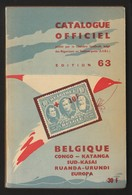 Catalogue Officiel Belgique 1963. Impeccable - België