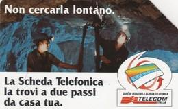 *ITALIA: NON CERCARLA LONTANO* - Scheda Usata (variante 765a) - [3] Erreurs & Variétées