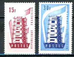 France   Y&T   1076 - 1077   XX    ---    Parfait état. - Frankreich