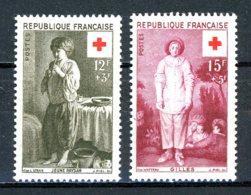 France   Y&T   1089 - 1090   XX    ---    Parfait état. - Frankreich