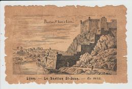 LYON - RHONE - LE BASTION SAINT JEAN EN 1652 - Otros