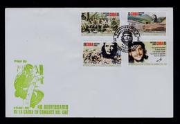 CUBA 1987-2007 CHE Guevera Militaria Fdcset Sp6551 - Militaria