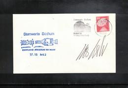 Germany 1975 Space / Raumfahrt Apollo - Soyuz Project Sternwarte Bochum Interesting Cover - Europa