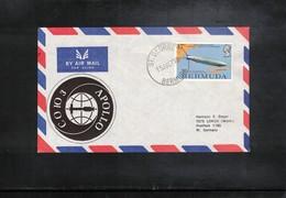 Bermuda 1975 Space / Raumfahrt Apollo - Soyuz Mission Interesting Cover - Covers & Documents