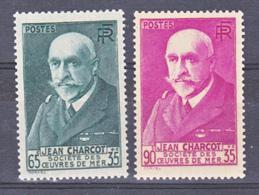 France 377/377A Charcot Neuf ** TB  MNH  Sin Charnela Cote 37.5 - France