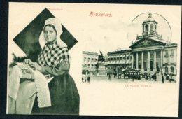 BELGIQUE - BRUXELLES - Dentellière - La Place Royale - Petits Métiers