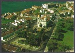 CP  Brasil Turistico,76-SALVADOR -BA, Air View Of The Church Of Our Lord Of Bonfim. Unused - Salvador De Bahia