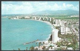 CP  San Juan's Puerto Rico,billion Dollar Half Moon The Fast Growing Isla Verde Resort Area . Unused - Puerto Rico
