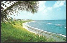 CP Photo:Herbert E.Miller- Beach On Way  To Old San Juan Puerto Rico .unused - Puerto Rico