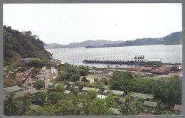 CP  U-121-Fotogr.: Eugenio Vargas G.- Golfito Port-Costa Rica. Unused - Costa Rica