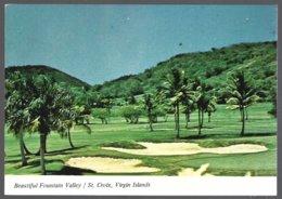 CP  Beautiful Fountain Valley  Golf Course, St.Croix U.S. Virgin Islands. Unused - Vierges (Iles), Amér.