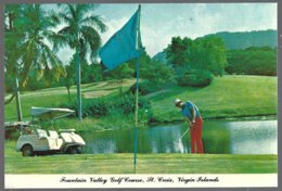 CP  Fountain Valley Golf Course, St.Croix U.S. Virgin Islands. Unused - Golf