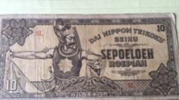 Billet Nippon 10 Rupiah 1944 - Japon
