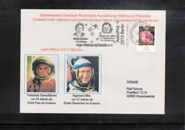 Germany 2013 Space / Raumfahrt Valentina Tereschkowa + Sigmund Jahn Interesting Cover - Europa