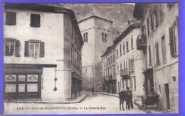 Carte Postale 73. Saint-Jean-de-Maurienne  La Grande Rue Très Beau Plan - Saint Jean De Maurienne