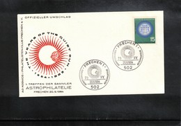 Germany / Deutschland 1964 Astronomy Year Of The Quiet Sun Interesting Cover - Astronomie
