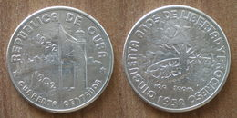 Cuba 40 Centavos 1952 UNC 1902 1952 50 Ans Republique Silver Argent Centavo Que Prix + Port Pesos Paypal Bitcoin - Cuba