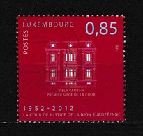 Timbre Du LUXEMBOURG Oblitéré N° Y. & T. Inconnu Année 2012 Cachet Rond - Luxembourg