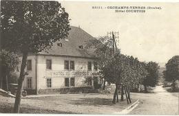 Orchamps Vennes Hotel Courtois - France