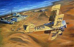 'Arrivée A Cap Juby'  -  1925 -  Artiste: Benjamin Freudenthal - CPM - 1919-1938: Entre Guerras