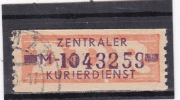 """DDR, Dienst: ZKD Nr. 22 """"M"""",gest (T 15005) - DDR"""