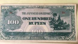 Billet JAPON 100 RUPPIE - Japon