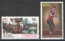Indonésie - YT 1232-1233 ** MNH - 1990 - Coopération Avec Le Pakistan - Indonésie