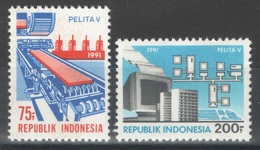 Indonésie - YT 1250-1251 ** MNH - 1991 - Pelita V - Indonésie