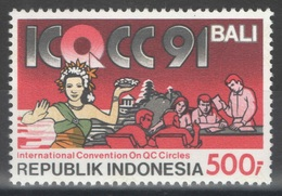 Indonésie - YT 1269 ** MNH - 1991 - Contrôle De La Qualité - Indonésie