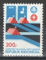Indonésie - YT 1260 ** MNH - 1991 - Jamboree - Scoutisme - Indonésie