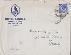 Italie, Italia Hotel Aquia Lettre. - 1946-.. République
