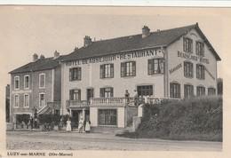 52/ Luzy Sur Marne - Hotel Beausejour - Restaurant - - France