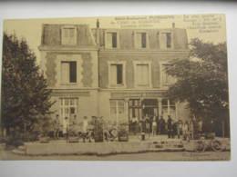 Cpa SISSONNE (02) Hôtel Restaurant Du Camp PUISSAUVE Location D'autos - Sissonne
